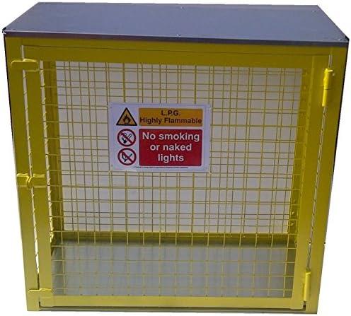 Botellas de Gas Jaula 3 x 19 kg - Almacenamiento - Seguridad - GLP ...