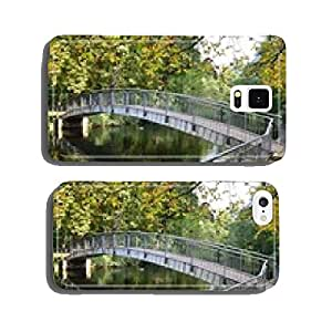 Arched bridge in the park autumnal cell phone cover case iPhone5