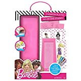 Barbie by Horizon Group USA Manner Plate Kit, Color, Design as well as Create Custom Images Unique towards your Fashionista, Multi Colored