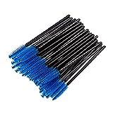 MELADY® Disposable Eyelash Brushes Mascara Wands Applicator Makeup Kits (Pack of 5000pcs, Blue)
