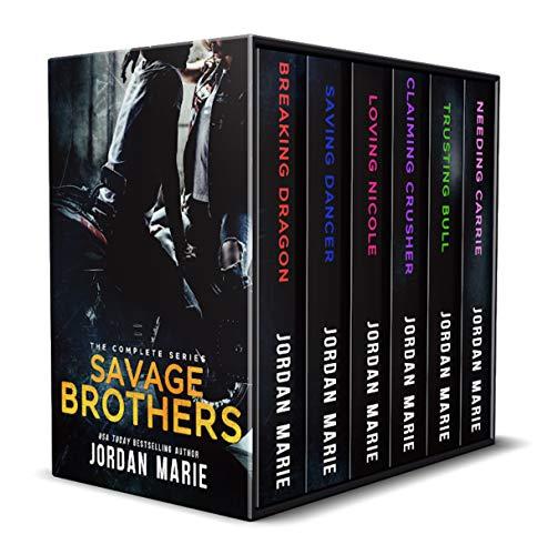 Savage Brothers MC  Boxed Set  Books 1-6 (Mc Bbw Series Collection)