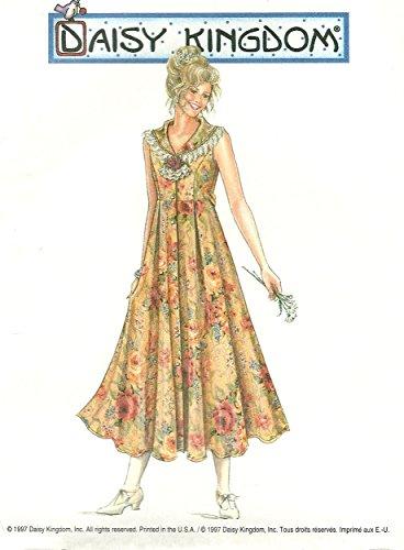 Simplicity vintage sewing pattern 0616 (7551) Daisy Kingdom sleeveless princess dress - Size (Sleeveless Daisy)