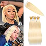 Best Hair Weave Blonde 3 Bundles - Mirthful 613 Blonde 3 Bundles With Closure Brazilian Review