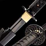 jihpensword,Katana Samurai Sword 1065 Carbon Steel