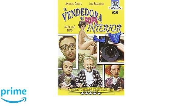 La Vendedora De Ropa Interior [DVD]: Amazon.es: María José Nieto, Florinda Chico, Antonio Ozores, José Sazatornil, Ramoncín, Quique Camoiras, ...
