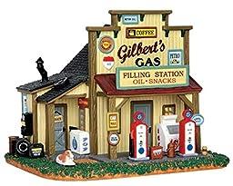 Lemax Village Collection Gilbert\'s Gasoline Station # 55977
