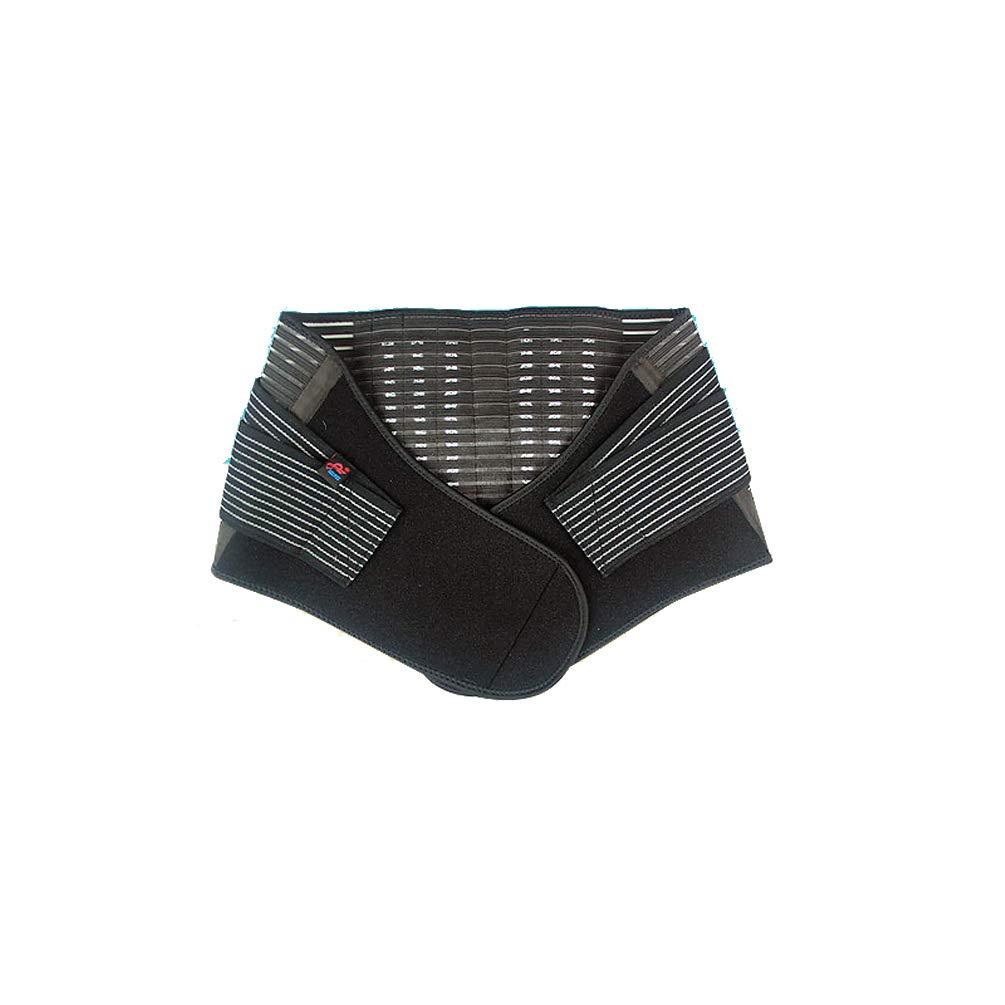 Fajas de Cintura y Abdomen, Ajustable Tejido Transpirable Portátil Cinturon Lumbar Prevenir Daños Lumbar Brace para Fitness y Proteger Los Lumbares Hacer Deporte-XL Parisana