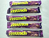 chocolate india - 5 x Nestle Munch 10.1 grams gms chocolate Chocolates - made in India (pack of 5 nestle munch