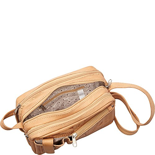 Ropin West Crossover Ropin West Natural Crossover Purse Purse Ropin Natural fqESgHtII