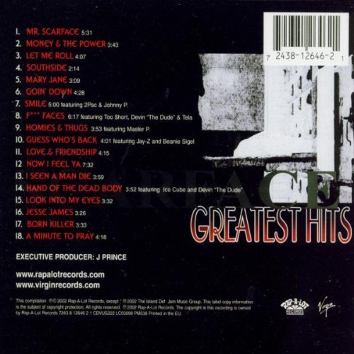 Scarface - Greatest Hits by Virgin