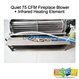 bbq factory Replacement Fireplace Fan Blower