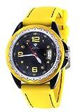 Unisex Aqua Master White Dial Red/Silver Tone Case 0.24ct Diamond Watch W344