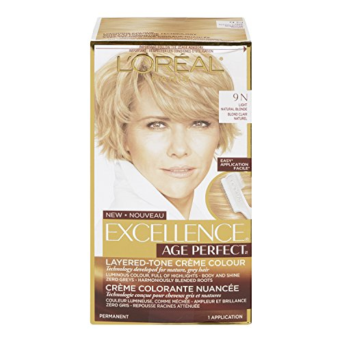 L'Oréal Paris Age Perfect Permanent Hair Color, 9N Light Natural Blonde