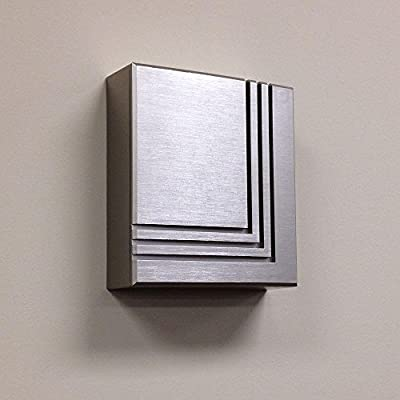 Brushed Nickel wireless / wired doorbell