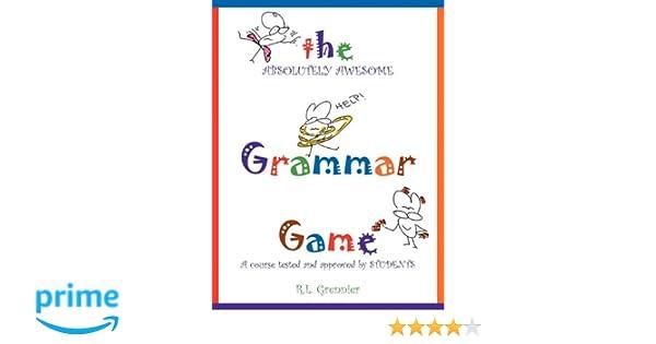 The Grammar Game: R.L. Grennier: 9781608442362: Amazon.com: Books