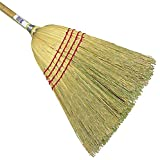 HUB City Industries 22-C  Bulldog 100% Corn Broom, 15/16'' x 42'' Handle