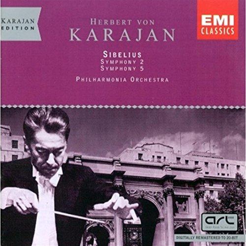 Sibelius: Symphonies 2 & 5 (Sibelius Symphony 5 Karajan compare prices)