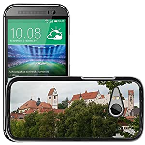 Hot Style Cell Phone PC Hard Case Cover // M00169934 St Mang Abbey High Castle // HTC One Mini 2 / M8 MINI / (Not Fits M8)