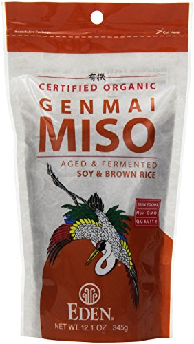 Genmai Miso, Organic Soy Bean/Brown Rice 12.1 oz Pkg