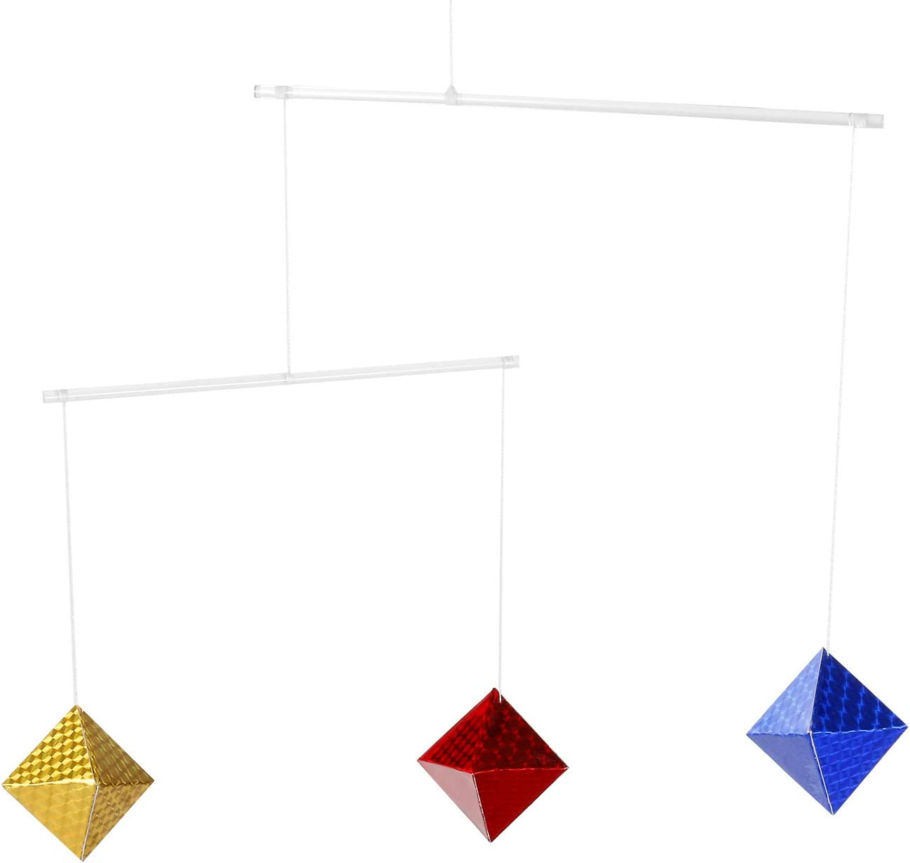 Montessori Octahedron Moblie Montessori Inspired Mobile Visual Mobiles