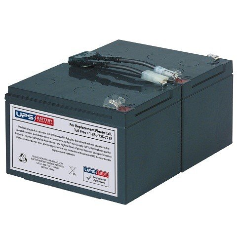 APC Smart UPS 1000 SUA1000 New Compatible Replacement Battery Pack by UPSBatteryCenter by UPS Battery Center
