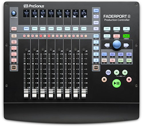 - PreSonus FaderPort 8 8-channel Mix Production Controller