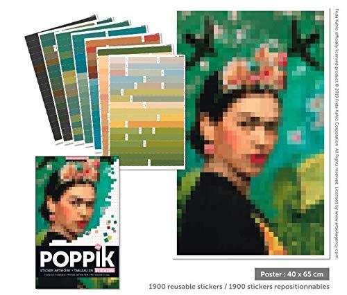 Poppik Stickers Frida Kahlo: Amazon.es: Juguetes y juegos