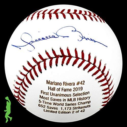 Mariano Rivera Autographed Ball - Hall Of Fame Hof 2019 Coa - JSA Certified - Autographed ()