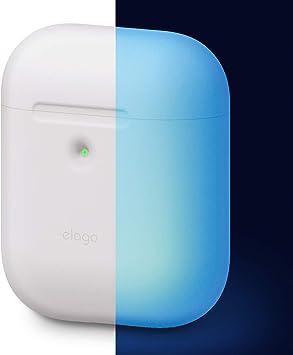 elago A2 Funda de Silicona Compatible con Audífonos Apple AirPods 2 inalámbricos (LED Frontal Visible): Amazon.es: Electrónica
