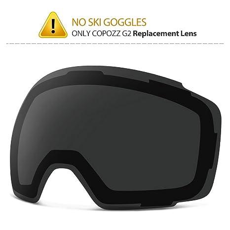 d246fa7aa45 Amazon.com  COPOZZ Ski Goggles