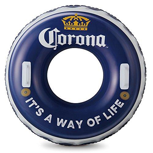 Corona 36 Swim Tube, Blue/White