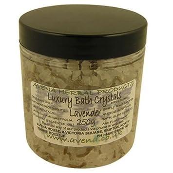 250 g de Sels de bain de luxe de lavande Parfumée Cadeau produits de ...