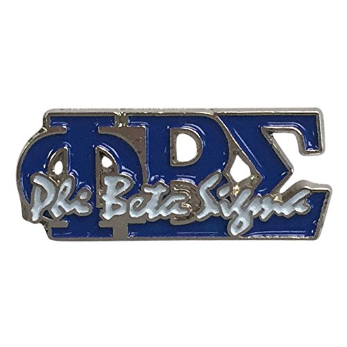 Phi Beta Sigma G522 Letter Pin with Letters and Name Lapel Pin Jacket Fraternity Divine Nine Greek