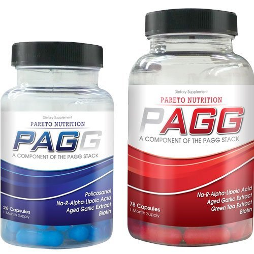 PAGG Stack Supplement One Month Supply by Pareto Nutrition