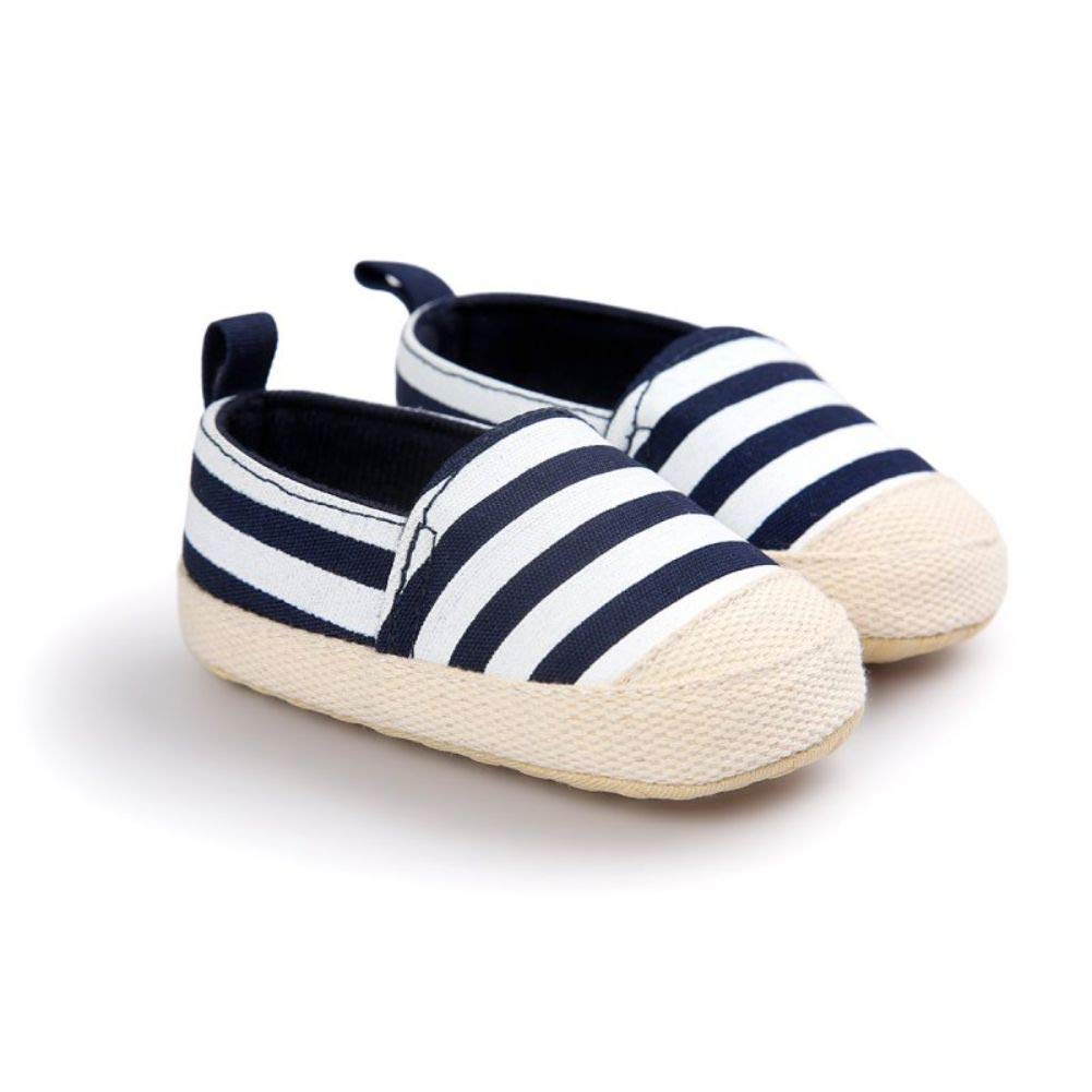 Norbi Baby Kids Shoes Stripe Soft Bottom Baby Shoes Infant Toddler Classic First Walkers Shoes NBA-1014-47