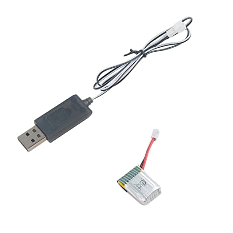 Reemplazo de batería de 3.7V Drone con Cable USB Compatible con ...