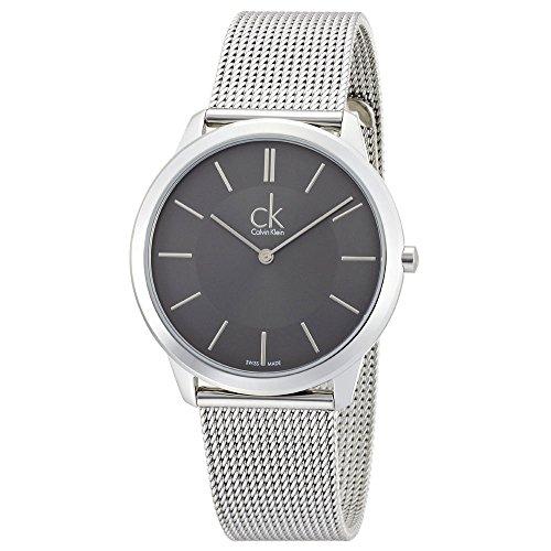 Calvin Klein ck Minimal Mesh Mens Watch (Calvin Klein Mens Bracelet)