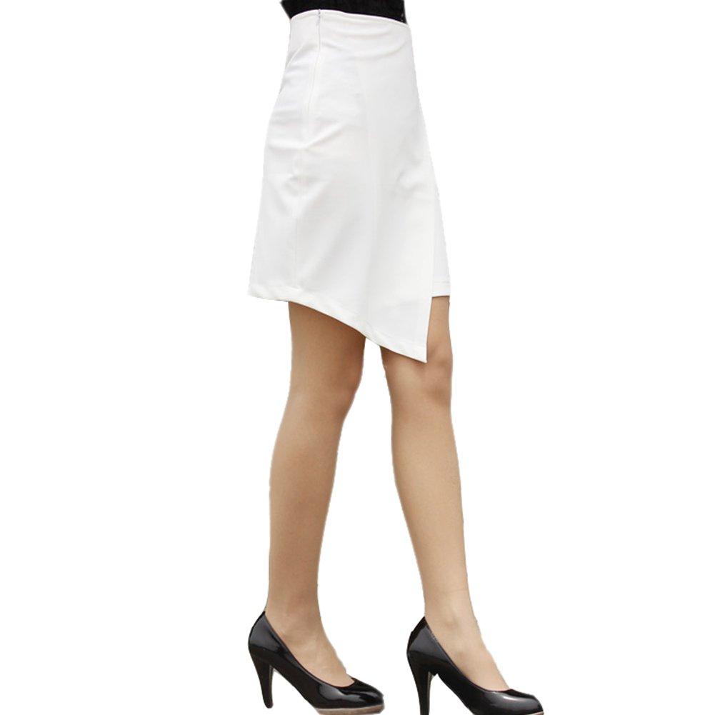 Lydia Fashion Womens OL Pencil Knee Length Work Wear Split Skirt