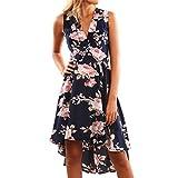Yang-Yi Hot Women Spring Summer Off Shoulder Floral Short Mini Dress Ladies Beach Party Dresses