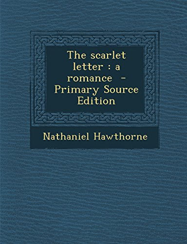 Download The scarlet letter: a romance book pdf | audio id:1yrww6r