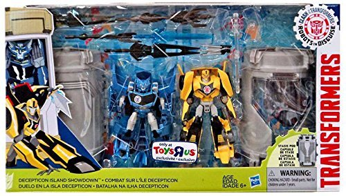 Transformers Robots in Disguise Clash of the Transformers Decepticon Island Showdown Exclusive Warrior Action Figure 2-Pack ()