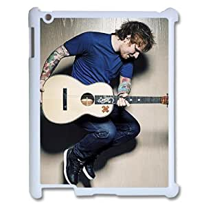 I-Cu-Le Cover Custom Case Ed Sheeran,customized Hard Plastic case For IPad 2,3,4