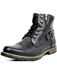 Men's Military Motorcycle Combat Boots