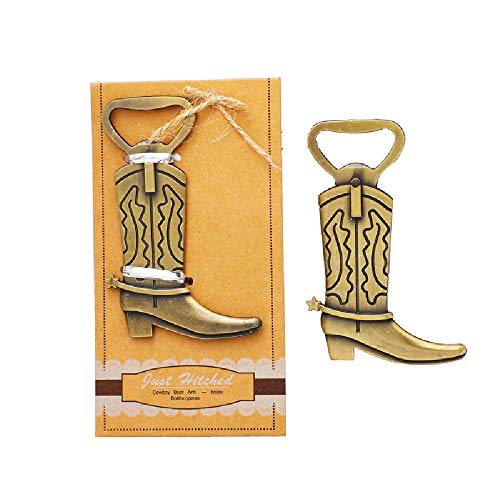 Cowboy Boot Favors - Pack of 16 Bottle Openers Wedding