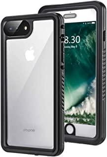 BengUp iPhone XR Waterproof Dustproof Shockproof Snowproof Case with Built-in Screen Protector, IP68 Certified Full Body Sealed Underwater Protective Cover for iPhone XR (Black)