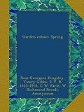 img - for Garden colour: Spring book / textbook / text book