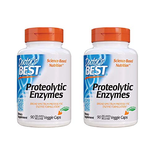 Doctor's Best Proteolytic Enzymes - 2 Pack