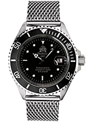 Tauchmeister Diver watch Japan Miyota AUTOMATIC 21jewels T6-MIL
