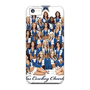 Tpu Case For Iphone 5c With Dallas Cowboys Cheerleaders
