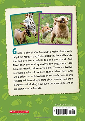 Five-Minute True Stories: Animal BFFs by SCHOLASTIC (Image #1)